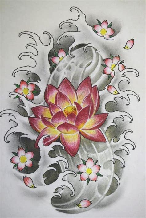 tattoo japanese lotus 44 japanese lotus tattoos collection