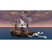 The Pirates Ghost Ship Minecraft Project