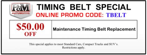 how much ya bench coupon code salem or auto repair specials coupons