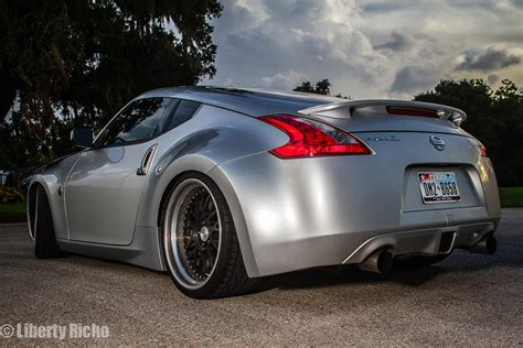 nissan 370z custom rims nissan 370z on iss forged fm 10r iss forged