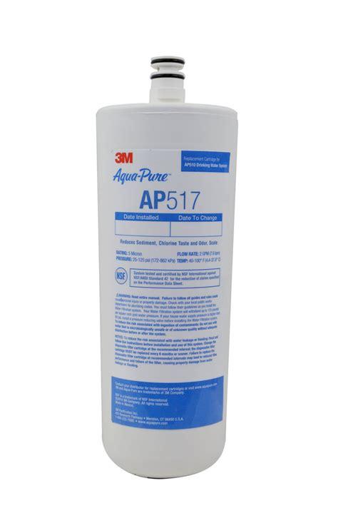 aqua sink water filter 3m aqua ap517 undersink water filter cartridge ebay