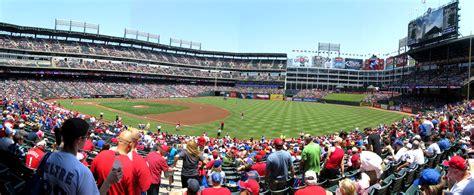 Rangers Sections by Cook Stadium Views Rangers Ballpark In Arlington