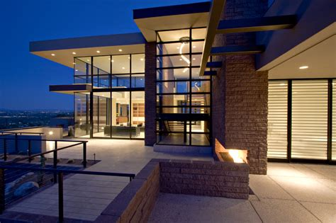 custom modern homes custom built modern luxury homes in tucson az mccreary