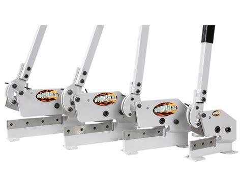 straight bench shears sheet metal shearing tools throatless hand shears by