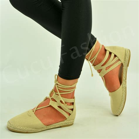 8 Advantages Of Flat Shoes Heels by New Womens Flat Heel Lace Up Ankle Sandals