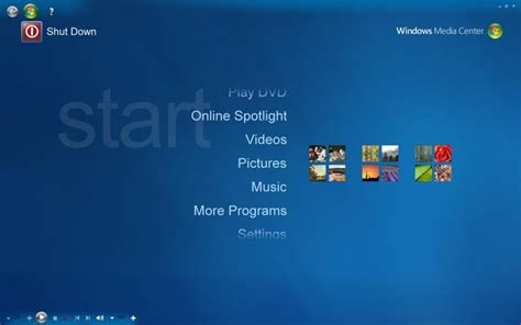 windows media center themes for xp vista or 7 skin for xp mce by amirsyahrani on deviantart