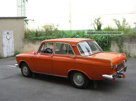 lada originale 1975 lada moskvich 408i e original paint car car