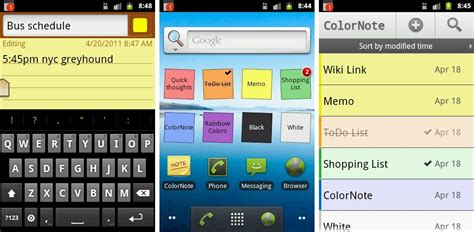 note apps for android best note taking apps for android android authority