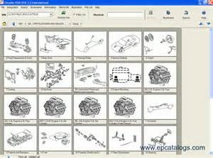 Chrysler Jeep Parts Catalog Chrysler Epc International Repair Manual Cars Catalogues