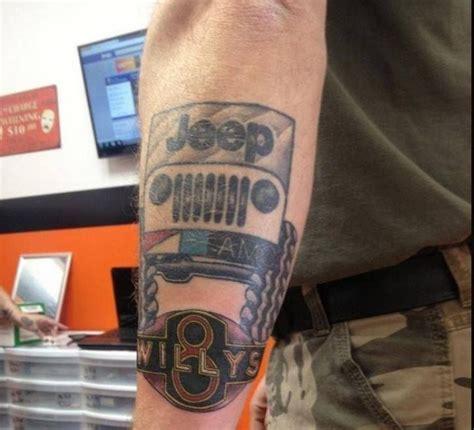 jeep tattoo pictures jeep tattoo mopar tattoos pinterest
