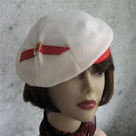 pattern for vintage hats womens 1930s vintage hat pattern pleated beret with accent