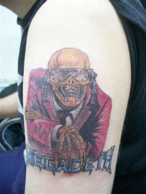 megadeth tattoo designs megadeth