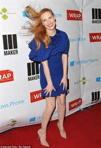 chastain steps out in a high fashion look that