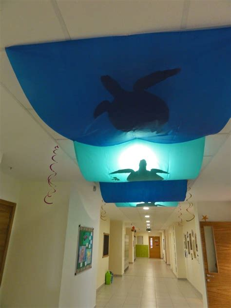 ceiling decoration ideas the charming classroom ocean classroom theme party