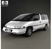 Pontiac Trans Sport 1990 3D Model For Download In Various