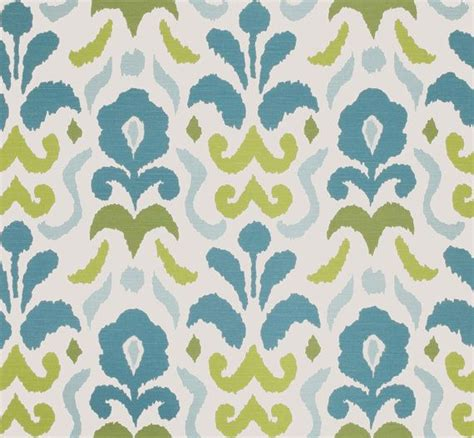 turquoise drapery fabric turquoise upholstery fabric modern ikat turquoise and