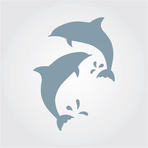 dolphin template stencils crafts dolphins stencilease