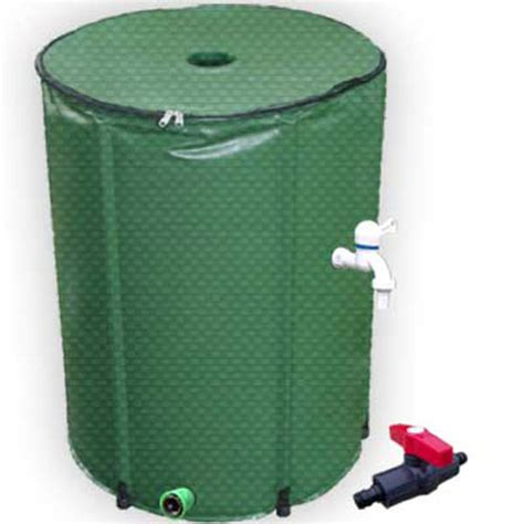collapsible garden container water 200l portable folding foldable garden tank