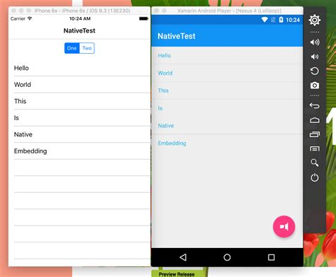 xamarin android include layout embedding native controls into xamarin forms xamarin blog