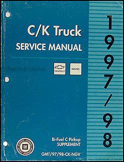 service and repair manuals 1998 chevrolet tahoe electronic toll collection 1997 c k truck repair shop manual original set pickup suburban tahoe yukon