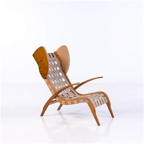 Chaise Longue Tissu by Josef Mistecky 1891 1957 Chaise Longue