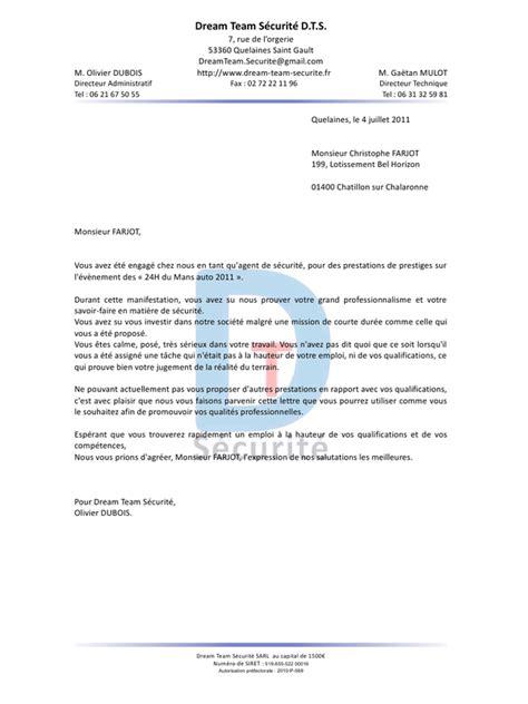 Lettre De Recommandation Professionnelle Lettre De Recommandation Pdf Par Olivier Dubois Fichier Pdf