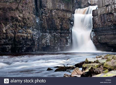 high force waterfall on the river tees photo walking britain high force waterfall on the river tees near middleton in