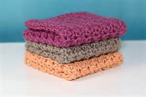 bamboo crochet washcloths