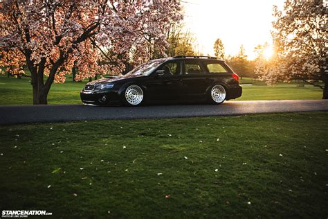 stanced subaru wagon the gallery for gt stanced subaru outback