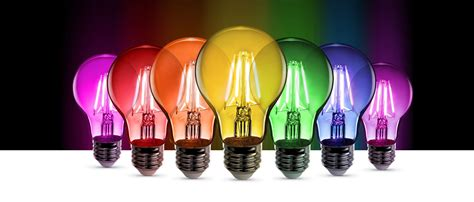 color led light bulbs color feit electric