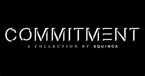 Commit To Commitment by Commitment Collection