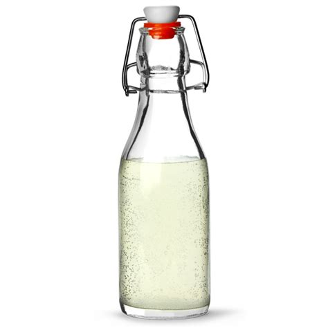 glass flask bottles with swing top genware glass swing top bottle 250ml