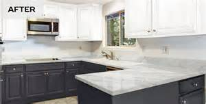 painted kitchen countertops giani granite