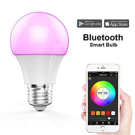 magiclight bluetooth smart led light bulb smartphone compare price to smart led bulb tragerlaw biz