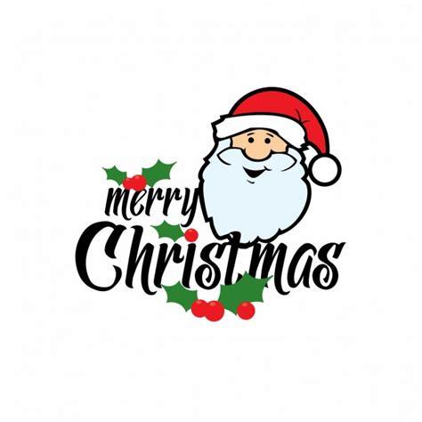merry christmas santa claus card vector
