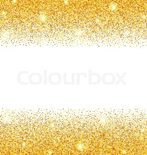gold and white background illustration abstract golden sparkles on white background