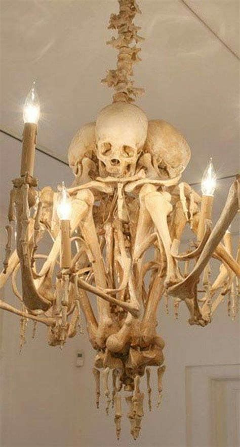 Skeleton Chandelier Indoor Outdoor Skeleton Decorations Ideas
