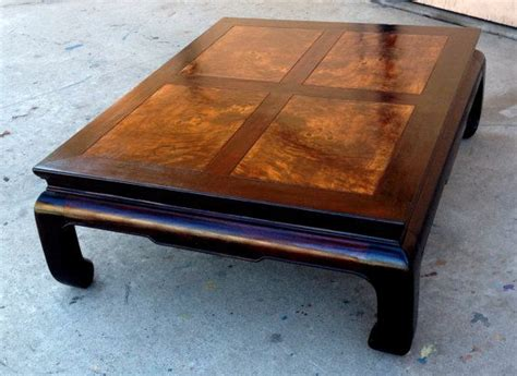 japanese style end tables henredon coffee table ming dynasty walnut
