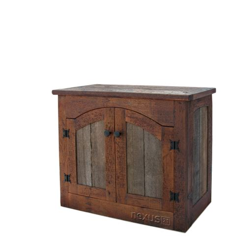 wood barn door storage cabinet rustic barnwood wall cabinet custom rustic furniture by