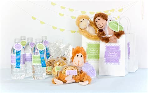 adopt  monkey party favors party inspiration