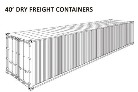 misure interne container 20 piedi container