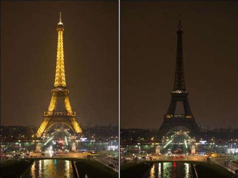 imagenes luto en paris par 237 s de luto la torre eiffel apag 243 sus luces por las
