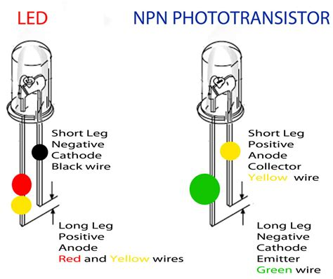 led diode positive leg being counted on trigger page 2 slot car illustrated forum