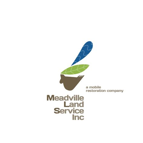 design for environment companies logo design design for meadville land service inc a