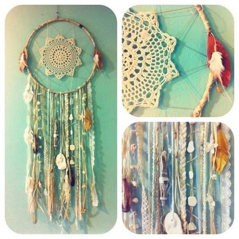 diy boho dreamcatcher bohemian home decor craft