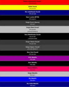 car paint color codes paint codes