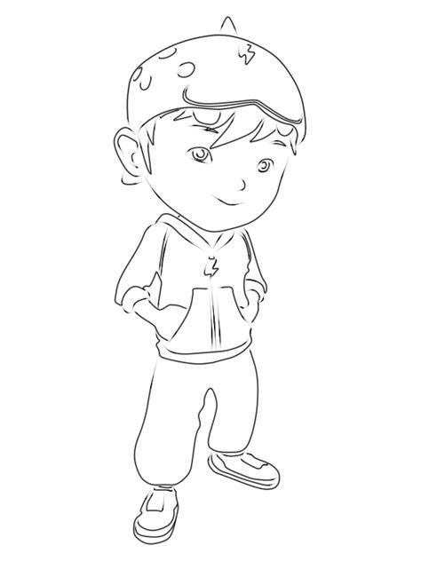 cara menggambar anime hitam putih cara menggambar boboiboy 9komik