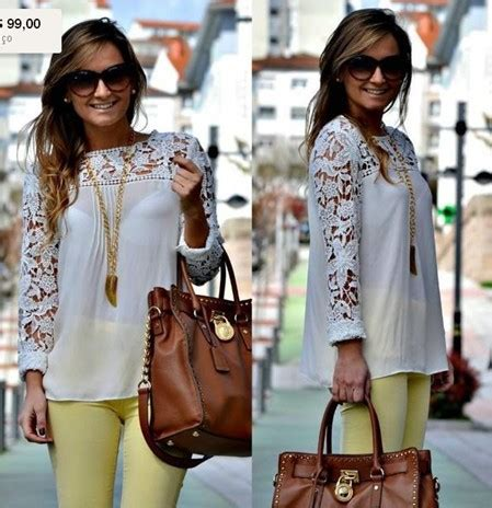Lace Blouse Pink White Yellow 31397 white blue pink yellow lace sleeve chiffion blouses