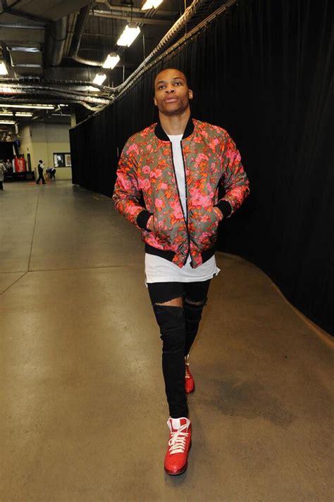 Gamis Lokk style westbrook s msgm floral print bomber jacket 4 wcf 2014 nba playoffs more