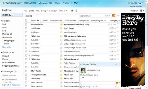 yahoo mail layout change hotmail absorbed by outlook the mary sue